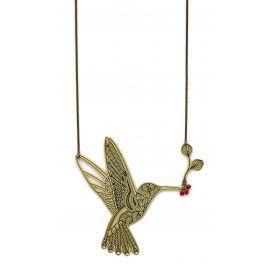 Collier long oiseau L'ENVOLÉE - Amélie Blaise