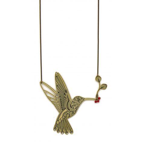 Long Bird necklace L'ENVOLÉE