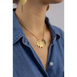 Short necklace DIGITALE - Amélie Blaise