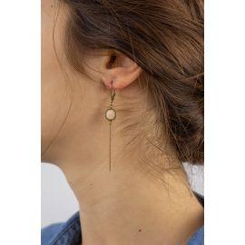 Petites Boucles d'oreilles dormeuses SPHINX - Amélie Blaise