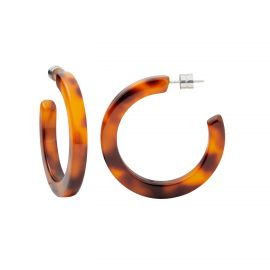 Midi Hoops in Amber - Machete
