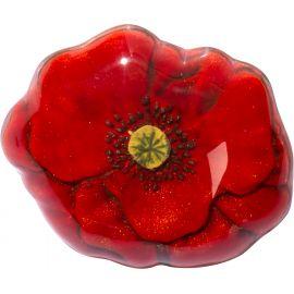 Poppy brooch PRIMAVERA - Zsiska