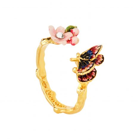 Bague ajustable Hanami papillon Hanami