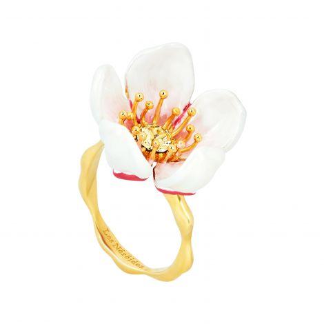 Bague ajustable Hanami fleur de cerisier Hanami