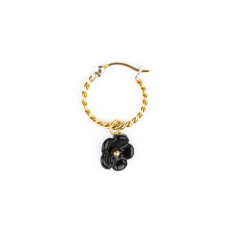 Mini créole Fleur noire