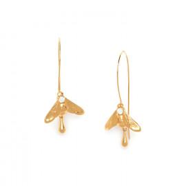 bee XL hook earrings Abelha - Franck Herval