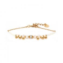 bracelet petites gouttes fermoir mousqueton Abelha - Franck Herval