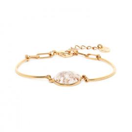 bracelet semi-rigide avec médaillon Abelha - Franck Herval