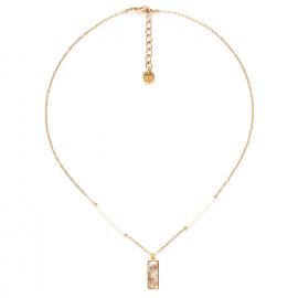 rectangular pendant necklace Abelha - Franck Herval