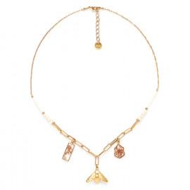 three dangle necklace Abelha - Franck Herval