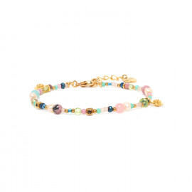 bracelet multidisques fermoir mousqueton Camily - Franck Herval