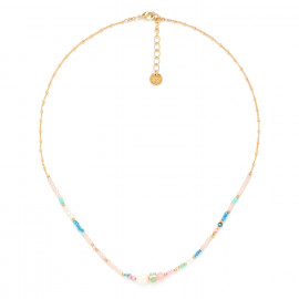 thin necklace 5 fresh water pearl Camily - Franck Herval