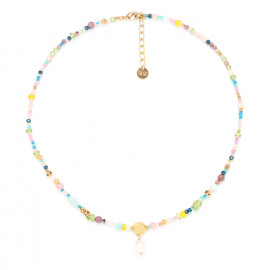short necklace with pearl Camily - Franck Herval
