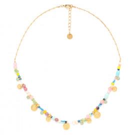 multi-dangle metal necklace Camily - Franck Herval