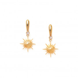 boucles d'oreilles poussoir étoile Celeste - Franck Herval