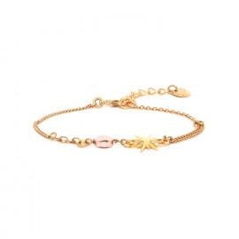 bracelet étoile et hématite fermoir mousqueton Celeste - Franck Herval