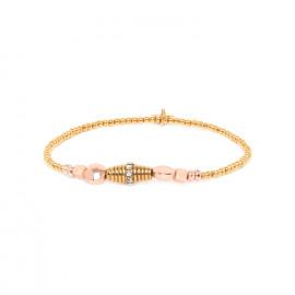 bracelet extensible métal doré à l'or fin Celeste - Franck Herval