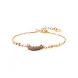 bracelet Lune fermoir mousqueton Celeste - Franck Herval