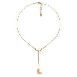 collier fin pendentif long étoile Celeste - Franck Herval