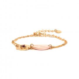 bracelet 2 tours fermoir mousqueton Coralie - Franck Herval