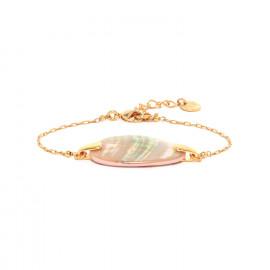 bracelet Nacre fermoir mousqueton Coralie - Franck Herval