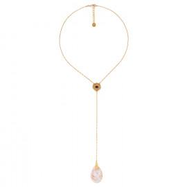 collier pendentif extra long Coralie - Franck Herval