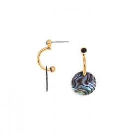 boucles d'oreilles poussoir mini créoles Danna - Franck Herval