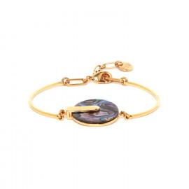 bracelet semi rigide Abalone Danna - Franck Herval