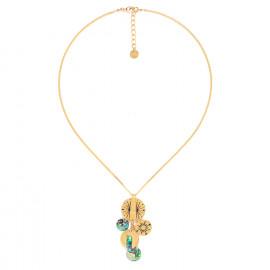 dangled disc necklace Danna - Franck Herval