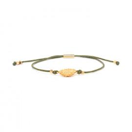 sunflower macrame bracelet Felicie - Franck Herval