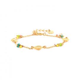 3 mini-sunflower bracelet Felicie - Franck Herval
