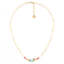 collier court heishi coquillage Isis - Franck Herval