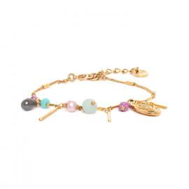 bracelet multipampilles fermoir mousqueton Marta - Franck Herval