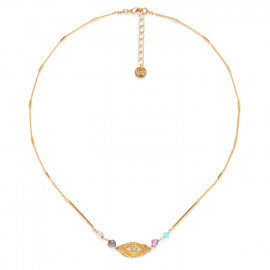 oval thin necklace Marta - Franck Herval