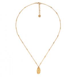 collier fin pendentif médaillon Marta - Franck Herval