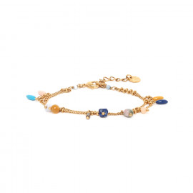 multi-dangle bead bracelet Sacha - Franck Herval
