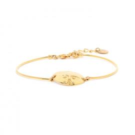 bracelet masque semi rigide fermoir mousqueton Tiwa - Franck Herval