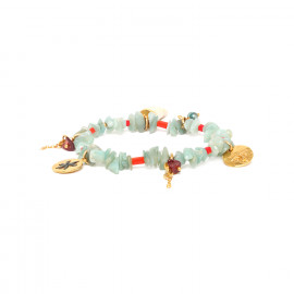bracelet extensible amazonite Tiwa - Franck Herval