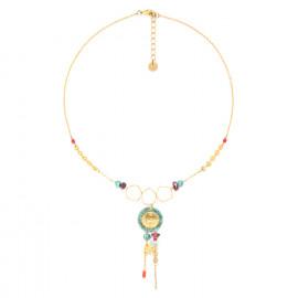 collier pendentif 2 rangs Tiwa - Franck Herval