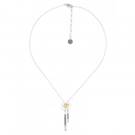 oval pendant w/dangle Bamako