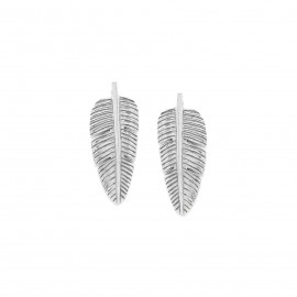 leaf post earrings Bananier - Ori Tao