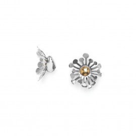 clips fleur bi-matières Flower power - Ori Tao