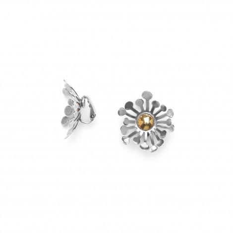 clips fleur bi-matières Flower power
