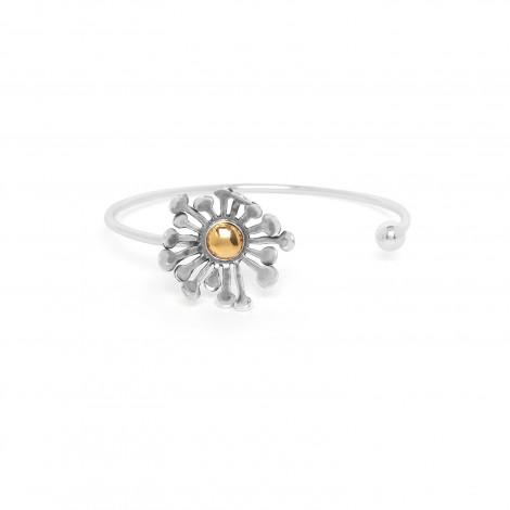 side open bracelet Flower power