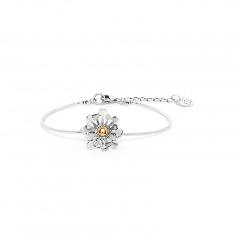articulated pistil bracelet Flower power