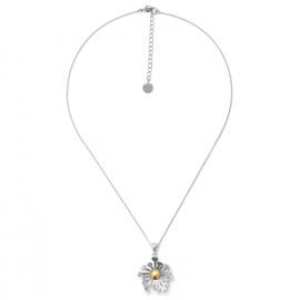 collier mi-long pendentif fleur Flower power - Ori Tao