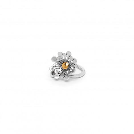 twisted ring Flower power