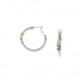 knot hoop earrings La marina - Ori Tao