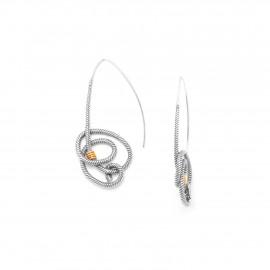 boucles d'oreilles grands crochets La marina - Ori Tao