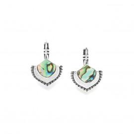paua mini french hook earrings Mirja - Ori Tao